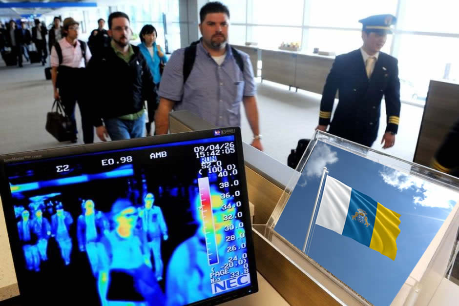 Airports Will Have Thermal Cameras